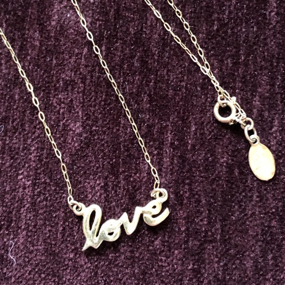 Love ❤️ necklace